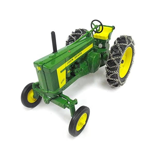 TOMY 1/16th Prestige Series John Deere 620 with Chains 45544 2