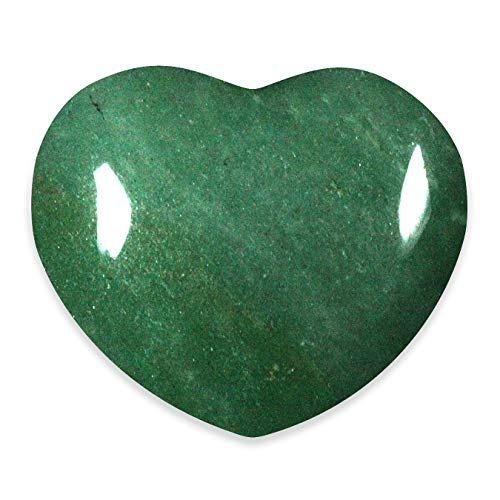 Green Aventurine Crystal Heart - Puffy Heart Large