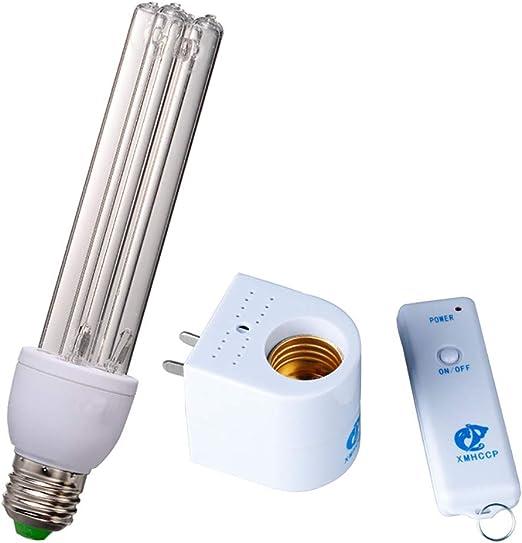 Esterilizador UV Ozono Portátil Luz Purificador Desinfectante De Aire Purificador Nevera Desodorizador Eliminador De Formaldehído Ácaros Asesino Eliminación De Olores Para El Área Del Animal Doméstico: Amazon.es: Hogar