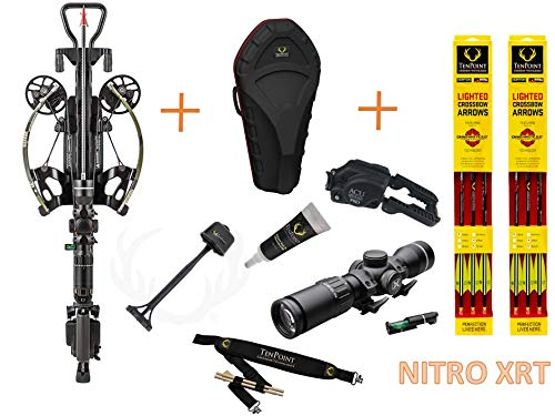 Tenpoint Nitro XRT Crossbow Elite Package with EVO-X Marksman Scope with Omni-Brite 2.0 Lighted 20