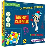 The Purple Cow- Advent Calendar Countdown to Christmas for Kids Who Love Science. Game Includes 24 Exciting Experiments…