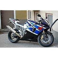 Black Blue White Fairing Injection ABS for 2003-2004 Suzuki GSXR GSX-R 1000