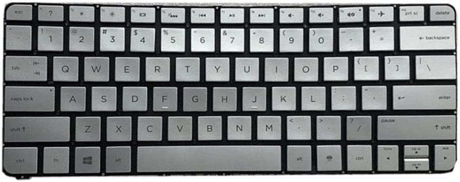 Gazechimp Laptop Keyboard with Backlit for HP Specter X360 13T-4000 13-4000 English keypad Button Computer Accessories