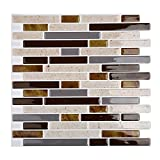 #7: Magictiles 3D Decorative Peel and Stick Tile for Kitchen Backsplash , 10.65
