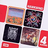 Boxed Set 4CD Hawkwind/In Search of Space/ Doremi Fasol Latido/Hall Of The Mountain Grill by Hawkwind (2011-11-29)