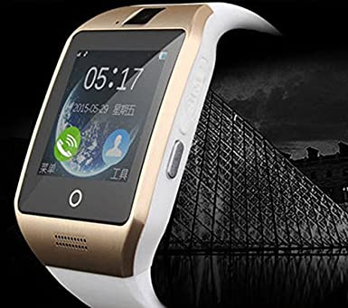 Amazon.com: Reloj inteligente Bluetooth Q18 NFC pulseras ...