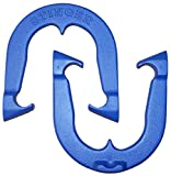 Stinger Professional Pitching Horseshoes- made in USA! (Blue- Single Pair (2 shoes))
