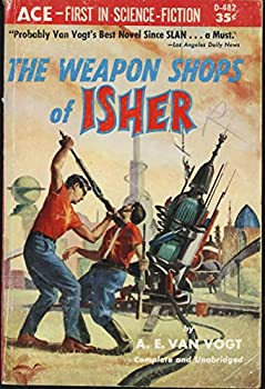 The Weapon Shops of Isher by A.E. van Vogt science fiction and fantasy book and audiobook reviews
