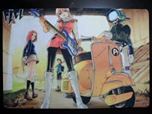 Flcl Fooly Cooly Game Playing Cards Play Mat