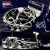 HBK Black White Skin Decal Vinyl Wrap for Xiaomi Robot Cleaner MI Robotic