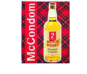 Scotch Whisky Flavoured Condoms