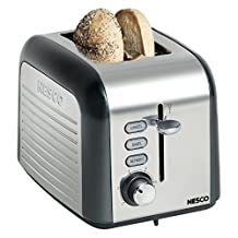 Nesco T1000-13 2-Slice Toaster, Black by Nesco