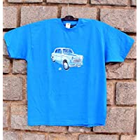 a23fc8134df8 Fiat-1100 Special 1962 Catawiki,Hand Painted T-shirt,Italian vintage car