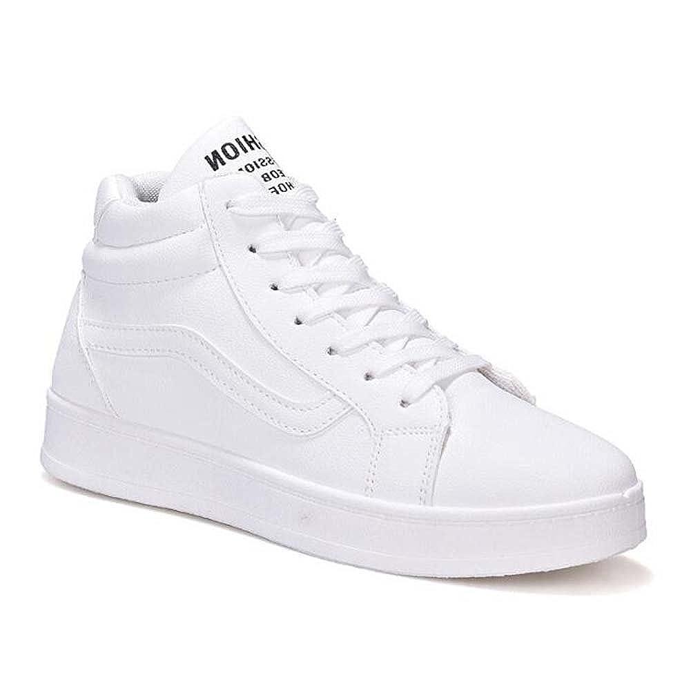 MYI Frauen Flache beiläufige beiläufige beiläufige Athletische Schuhe Comfort Turnschuhe Wanderschuhe Outdoor Weiß schwarz Rosa Größe 35-40 a95d80