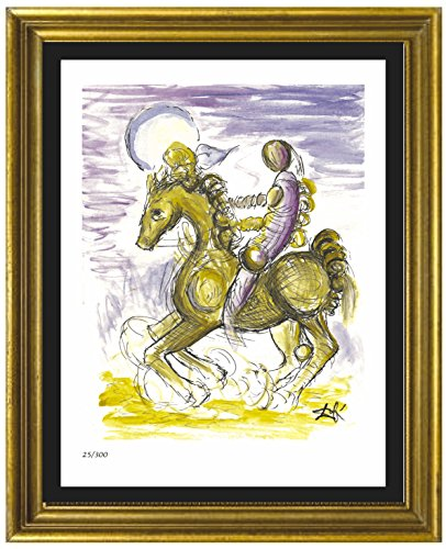 Dali Signed Lithographs (Salvador Dali Signed & Hand-Numbered Limited Edition Lithograph Print,