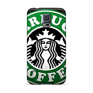 MarcClements Samsung Galaxy S5 Protective Hard Phone Covers Allow Personal Design Colorful Starbucks Series [qWb1758HzEG]