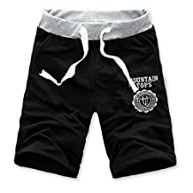 Lowpricenice(TM) Fashion Men Cotton Shorts Pants Gym Sport Jogging Trousers Casual