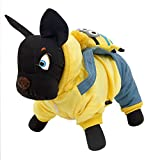 Pawz Road Minions Pet Apparel Dog Thicken Straps Jumpsuit£¨For small and medium size dog£©