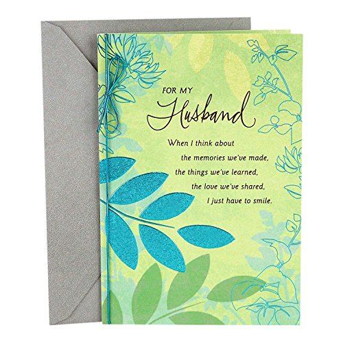 Hallmark Romantic Father's Day Card for Husband (Sweet and Good Man) (Things To Say In A Fathers Day Card)