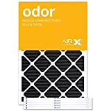 AIRx Filters Odor 30x36x1 Air Filter MERV 4 AC Furnace Pleated Air Filter Replacement Box of 6, Made in the USA