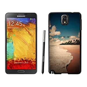 NEW Custom Diyed Diy For SamSung Galaxy S3 Case Cover Phone With Take Me Away Exotic Beach Shore_Black Phone