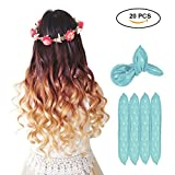 Best Rollers For Long Hairs - Foam Curlers - Aolvo Flexible Natural Straight Hair Review