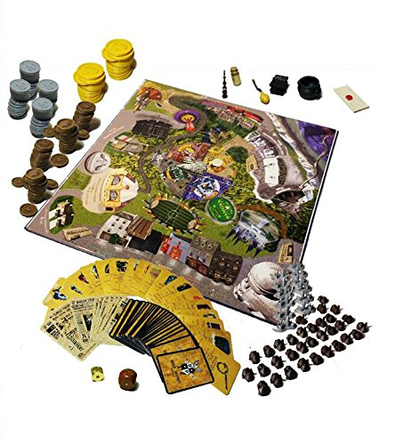 Harry Potter Fans   Wizards Monopoly Adventure Game