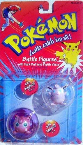 Hasbro Pokemon Battle Figures - Jigglypuff #39 Wigglytuff #40 (Jigglypuff Figure)