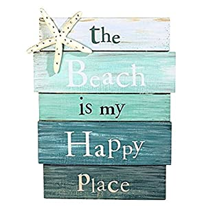 51F25m1TMmL._SS300_ Wooden Beach Signs & Coastal Wood Signs