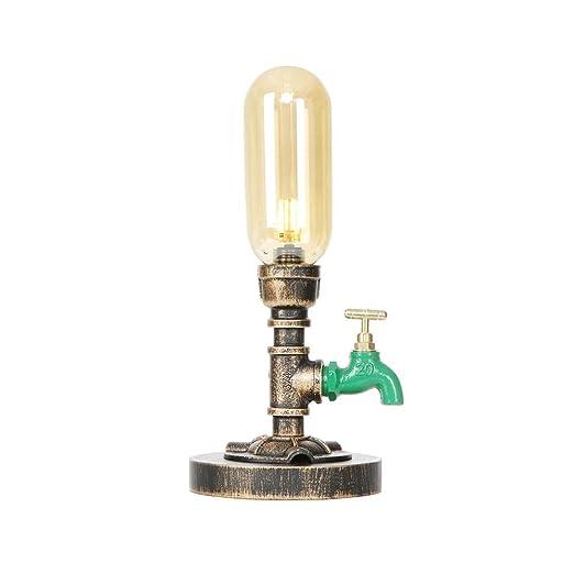 Belief Rebirth Lámparas de Mesa Industrial con Verde Grifo ...