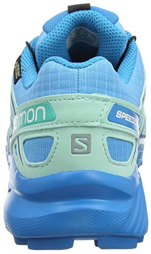 Aquamarinblau Trailrunning GTX Speedcross Salomon Hawaiian Schuhe Damen Beach 4 Glass Surf Aquarius TYTZI