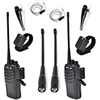 HYS TC-P10W 10W UHF Two Way Radio 70CM 400-480 MHz 16CH VOX Scrambler Ham radio, Wireless Bluetooth Earphone and Wire Air Tube Earpiece
