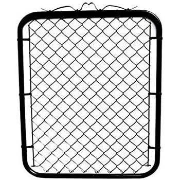 Amazon Com Mtb Black Coated Chain Link Fence Gate 48 Inch Overall