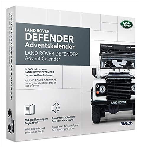 Ab 14 Jahren in 24 Schritten zum Land Rover Defender unterm Weihnachtsbaum FRANZIS Land Rover Defender Adventskalender