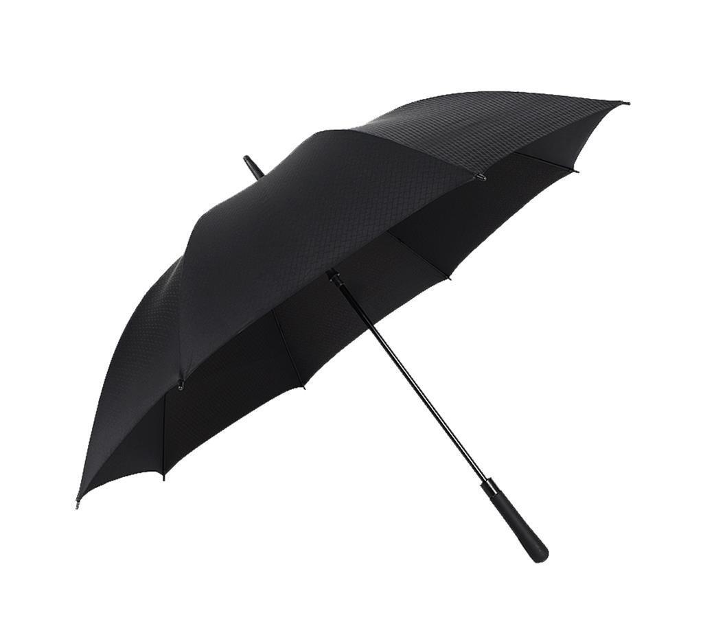 Paraguas Ligero Simple del Comercio de los Hombres Paraguas Plegable manualmente del Paraguas de Viaje de Las sombrillas con 8 Costillas Esqueleto de la ...