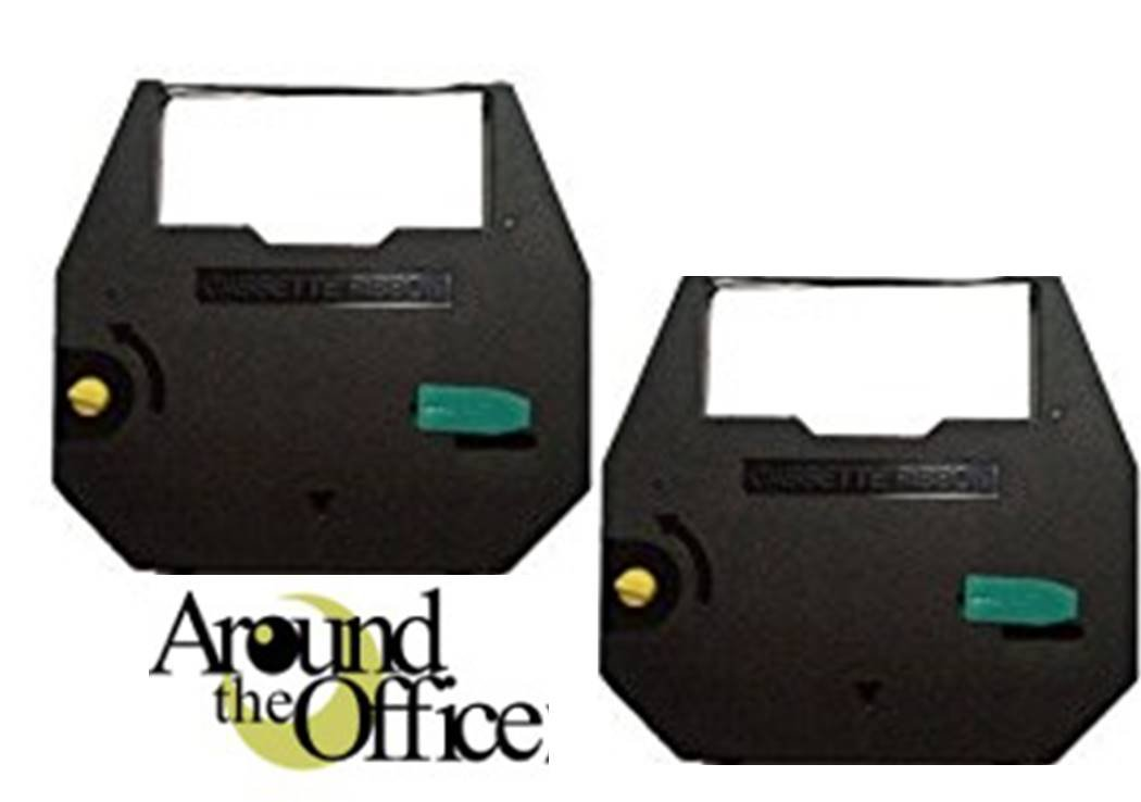 Royal Scriptor and Scriptor II - 2 Pack - Typewriter Ribbon by Around The Office Compatible Black, Correctable