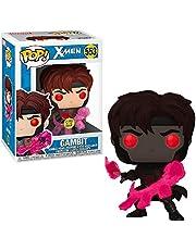 Pop Funko 553 Gambit X-Men Exclusive Entrertainment Glows