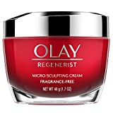 Olay Regenerist Advanced Anti-Aging Micro-Sculpting Face Moisturizer Cream, Fragrance-Free 1.7 Ounces