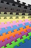 IncStores Premium Interlocking Foam Tiles - Ideal for p90x, Insanity, pilates, yoga, other aerobic/cardio work outs, and kids playrooms… review