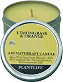 Lemongrass & Orange Aromatherapy Candle-Made with 100% Pure Essential Oils - 3oz Tin