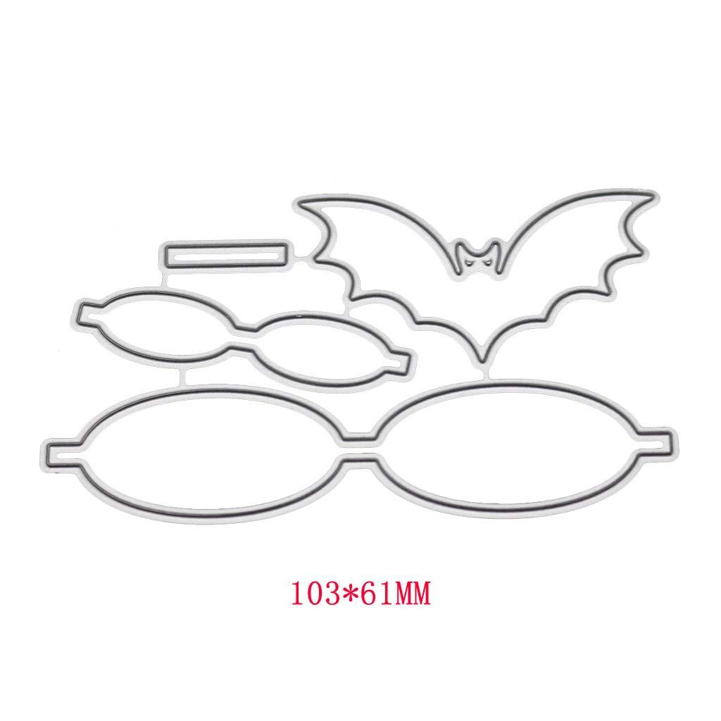 Bow 02 Metal Cutting Dies Stencil  Scrapbooking Embossing Craft