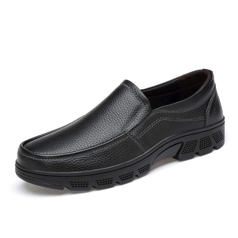 Noir Shuo lan hu wai Chaussures habillées Oxford décontractées à la Mode pour Hommes,Chaussures de Cricket (Couleur   Noir, Taille   46 EU) 47 EU