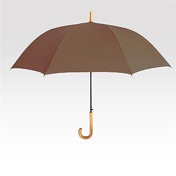 paraguas Tubo Recto color sólido de los colores del caramelo Pequeño frescas creativo femenino de Corea