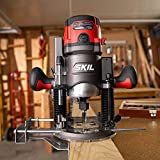 Skil 14 Amp Plunge and Fixed Base Router Combo