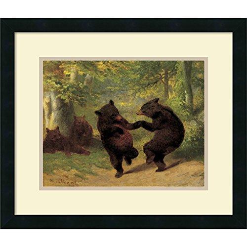 Dance Art Print - Framed Art Print, Dancing Bears' by William Beard: Outer Size 21 x 18