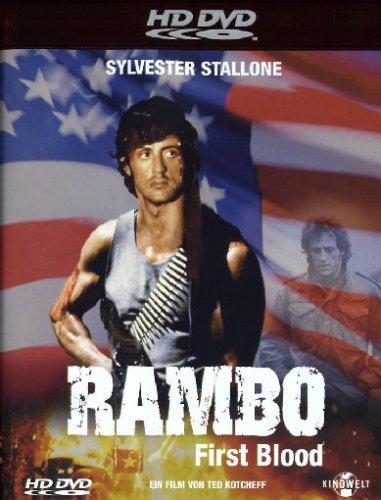 Rambo 1 - First Blood [Alemania] [HD DVD]: Amazon.es: Stallone, Sylvester, Crenna, Richard, Dennehy, Brian, Caruso, David, Starrett, Jack, Kotcheff, Ted, Stallone, Sylvester, Crenna, Richard: Cine y Series TV
