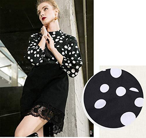 Plissée Imprimée À Soie De Robe Style Mousseline Dentelle Femme Longue En Ohmais Chic Jupe Floral Ete Fleur Noir ZgfxHOPw