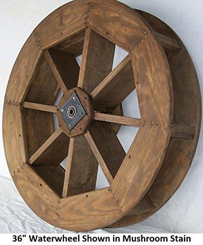 Backyard Crafts Amish-Made Decorative Waterwheel - 36