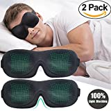 Sleep Mask Eye Mask for Men & Women - Homello Premium 3D Contoured Eye Shades Sleeping Mask with Innovative Domed Shape for Complete Darkness and Free Movement of the Eyes (2)