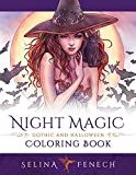 Night Magic - Gothic and Halloween Coloring Book (Fantasy Coloring by Selina) (Volume 10)